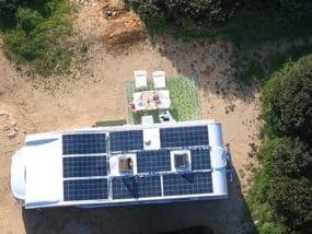 Solbian Solar Wohnmobil autark Renault Täglich Vegan