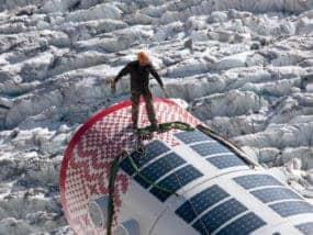 Bivacchio Biwak Gervasutti Yacht Solbian Solar Solarpaneel Photovoltaik begehbar leicht rutschfrei rutschfest antirutsch aufgeklebt aufkleben SunPower Solbian Segeln Schatten Laderegler
